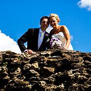 Ruth and Matthew's wedding at Stirk House, Lancashire.