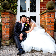 Vicky & Paul's wedding photograph