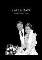 Wedding of Kate Boon and David McGuinness